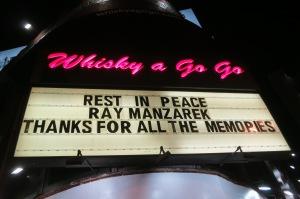 Whisky a Go Go Ray Manzarek